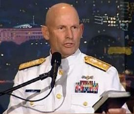 """Rear admiral wont back down from 'Constitutional right' to share faith   Rear Admiral William Lee, who described himself as """"a man of deep abiding faith who happens to wear a uniform,"""" spoke out against the growing religious hostility in the military."""