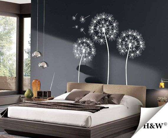 Dandelions Wall Decals Home Decor Vinyl Stickers by HomeWall