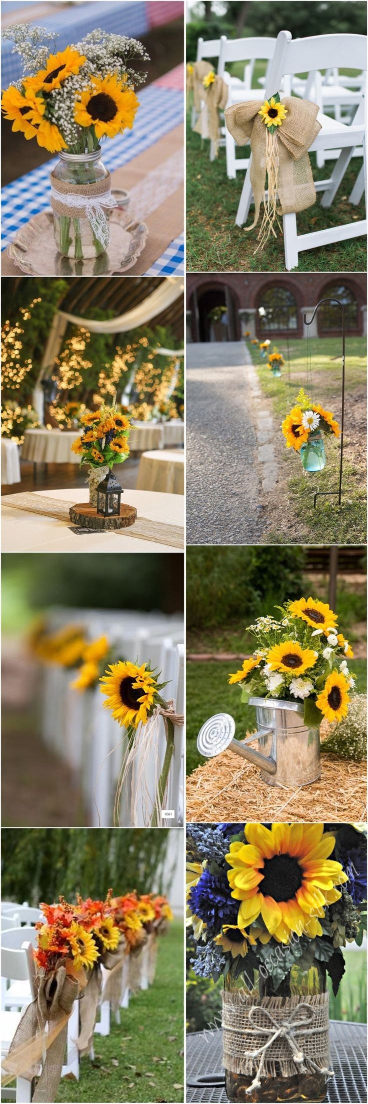 Best 25 sunflower weddings ideas on pinterest red wedding 23 bright sunflower wedding decoration ideas for your rustic wedding junglespirit Gallery