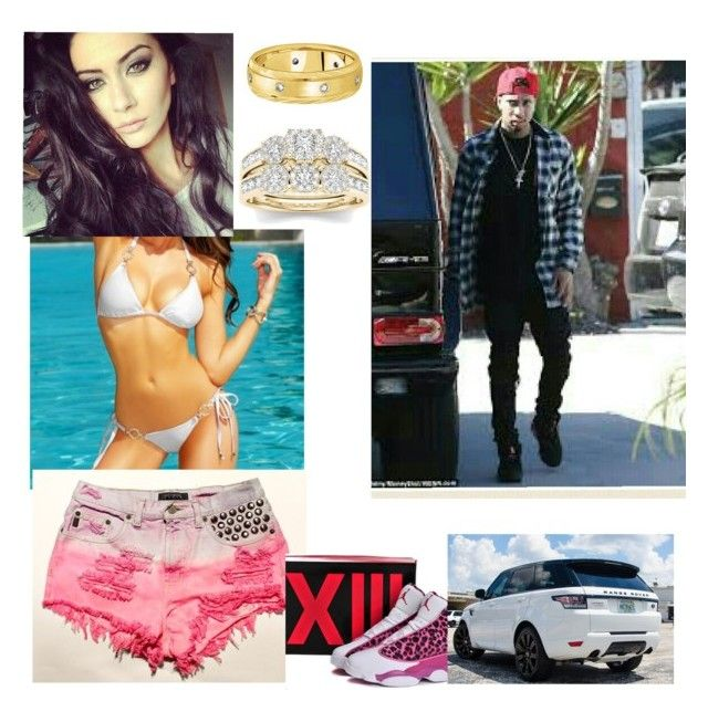 """tyga's wife"" by skrillexgurl on Polyvore featuring Modern Bride and Allurez"
