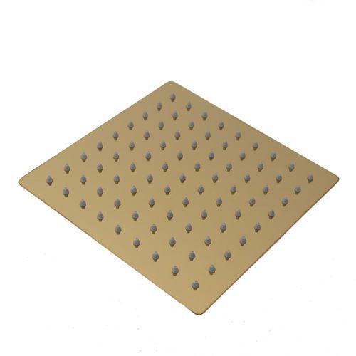 20cm-Regendusche-Regenbrause-Brause-Duschkopf-Duscharmatur-Kopfbrause-Gold01