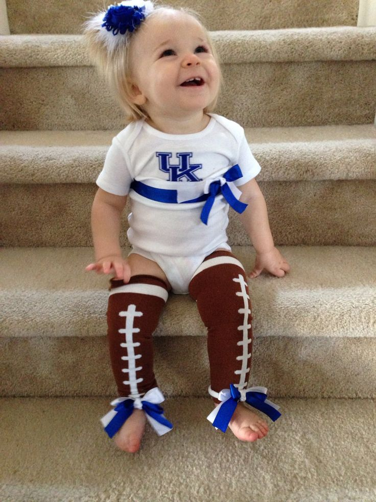 Baby girl needs this! University+of+Kentucky+Football+Onesie+and+by+SweetCarolineCrafts,+$32.00