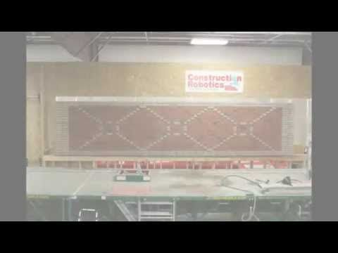Bricklaying robotu0027s artistic skills - YouTube Construction Tech - artistic skills