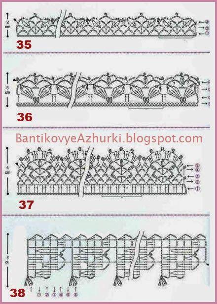 Crochet Scheme, В Язання