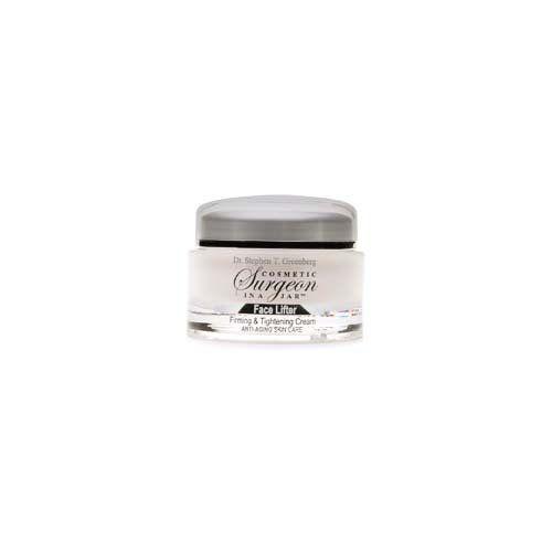 Cosmetic Surgeon In A Jar Face Lifter Firming & Tightening Cream 1.7 oz (48.2 g) Dr. Greenberg http://www.amazon.com/dp/B001EJGM6M/ref=cm_sw_r_pi_dp_9pNQwb11XX675