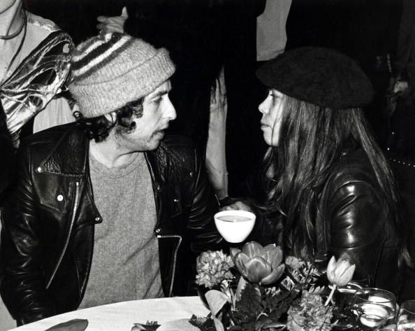 Bob Dylan and Rickie Lee Jones