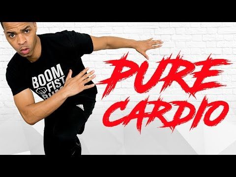 25 Minute Pure Cardio Fat Burning HIIT Workout for Fat Loss - No Equipment At Home Cardio Routine - YouTube