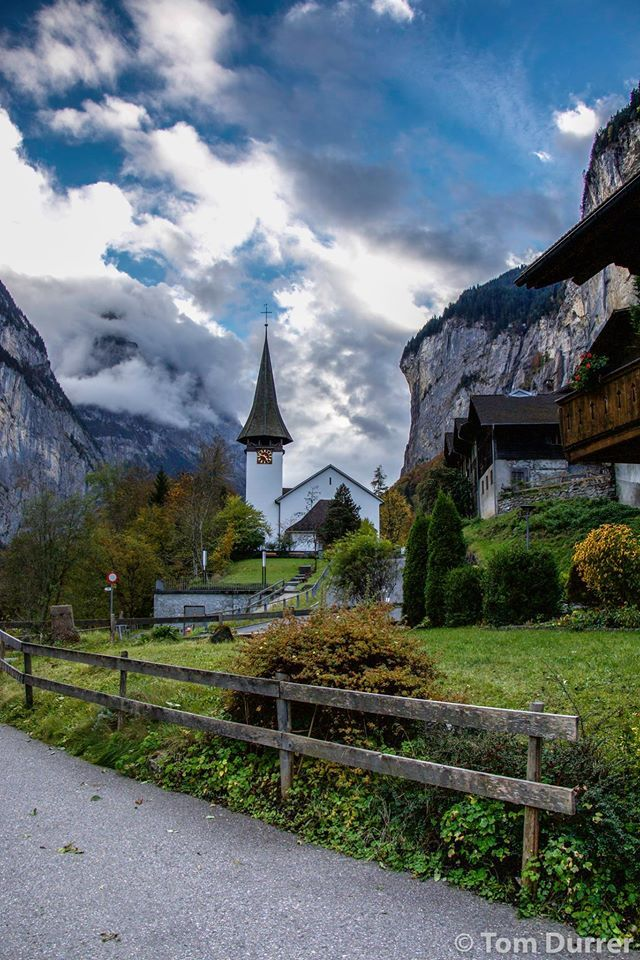 Lauterbrunnen ( Valley of 72 waterfalls) Switzerland
