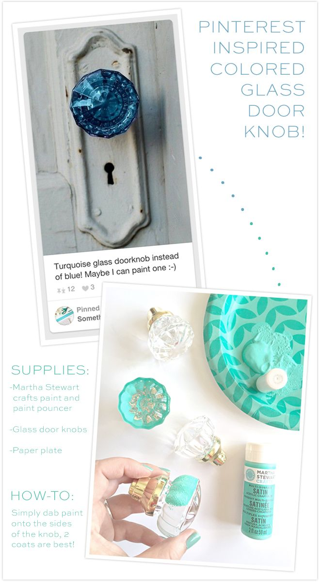 Colored glass door knobs -  Stcraftroom Part One Planning Diy Awesome Painted Glass Door Knobs