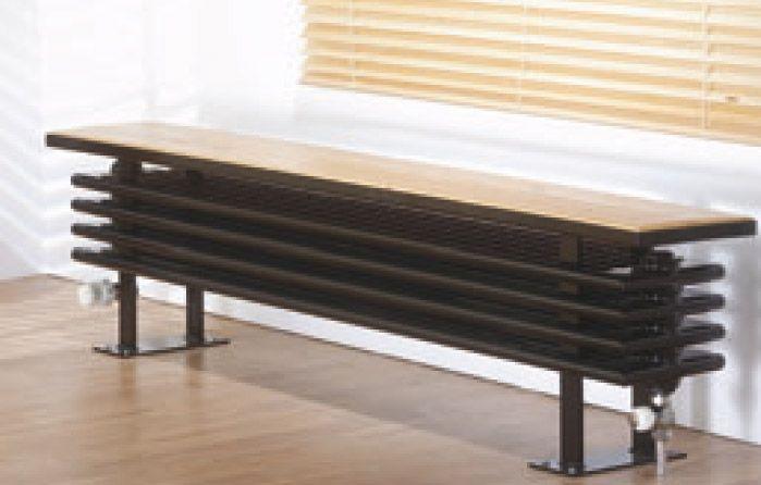Laurens Anuova Seat - Plint Radiatoren (Vrijstaand) - Design Radiator