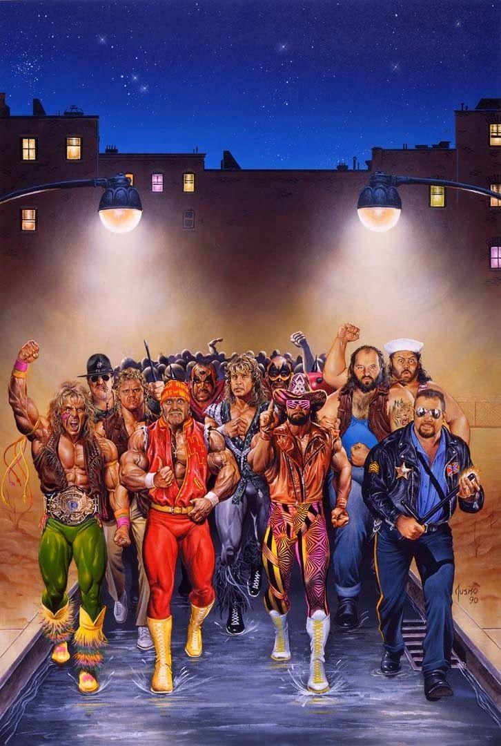 Joe Jusko Royal Rumble 1992