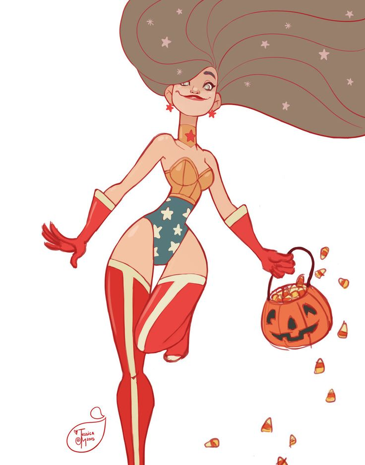 Halloween Character Design Challenge : Halloween character design wonder woman by meomai on