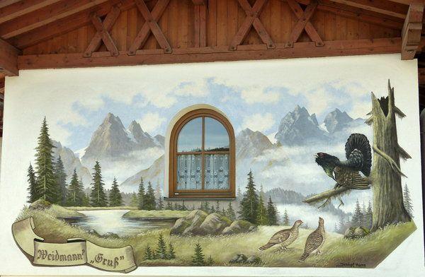 tirol, fassadenmalerei, lüftlmalerei, lüftelmalerei