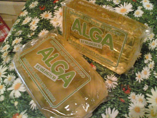 Detersivo bucato e casa fai da te con sapone Alga | donneinpink magazine