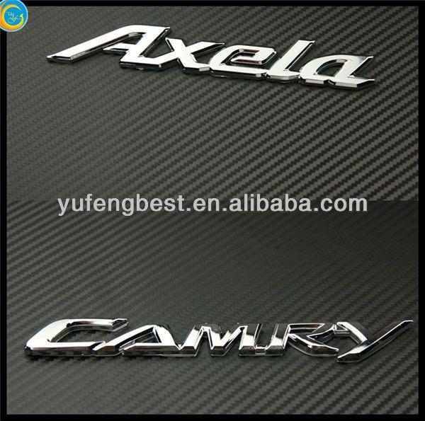 custom metal car emblem badge,chrome emblem badge