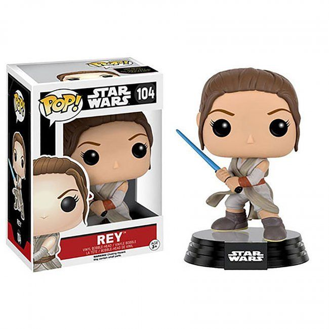Toy - POP! - Star Wars - The Force Awakens - Rey Lightsaber