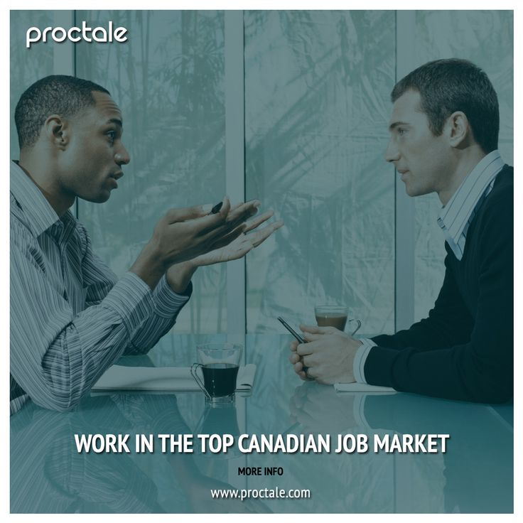 Work in the top Canadian #Job market.