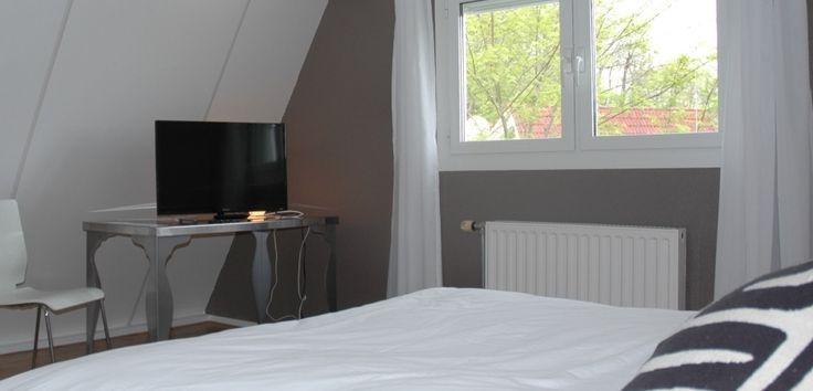 Tweede tv op de grote slaapkamer
