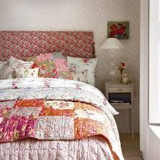 Image result for vintage floral bedroom