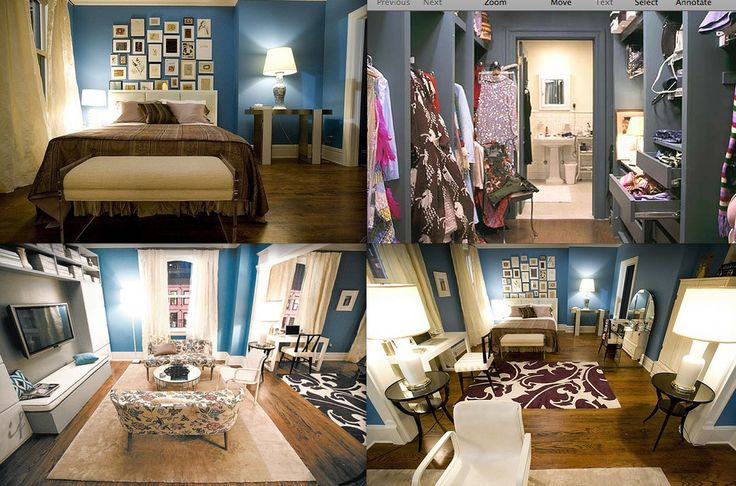 17 best images about carrie bradshaw 39 s apartment on. Black Bedroom Furniture Sets. Home Design Ideas