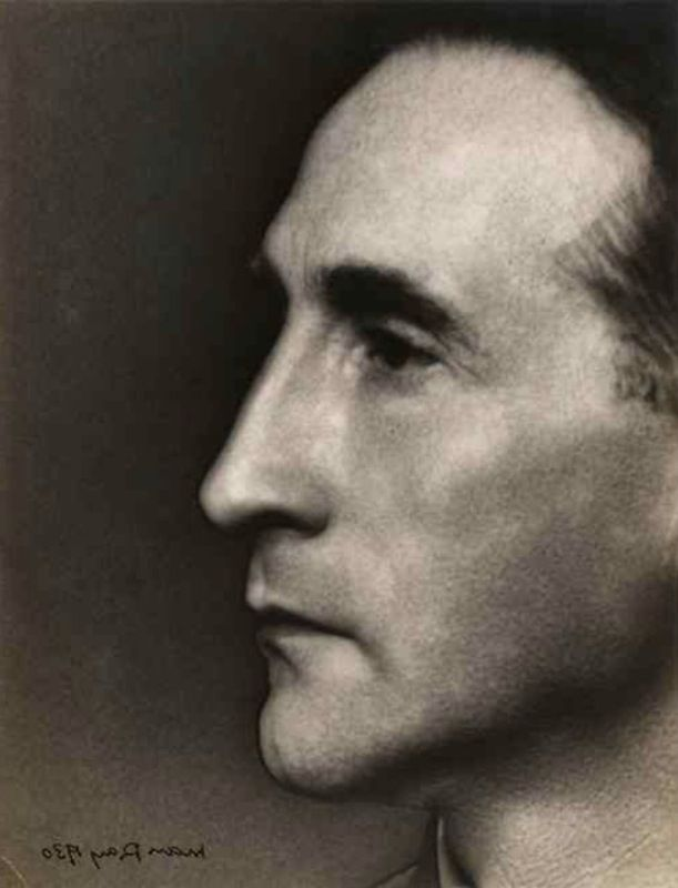 Marcel Duchamp, 1930 - by Man Ray