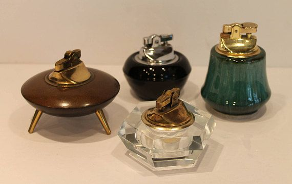 Vintage Cigarette Lighter Collection  Atomic Lighter