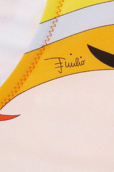 Emilio Pucci - Fiore Maya Printed Bandeau Bikini - Pink - IT38