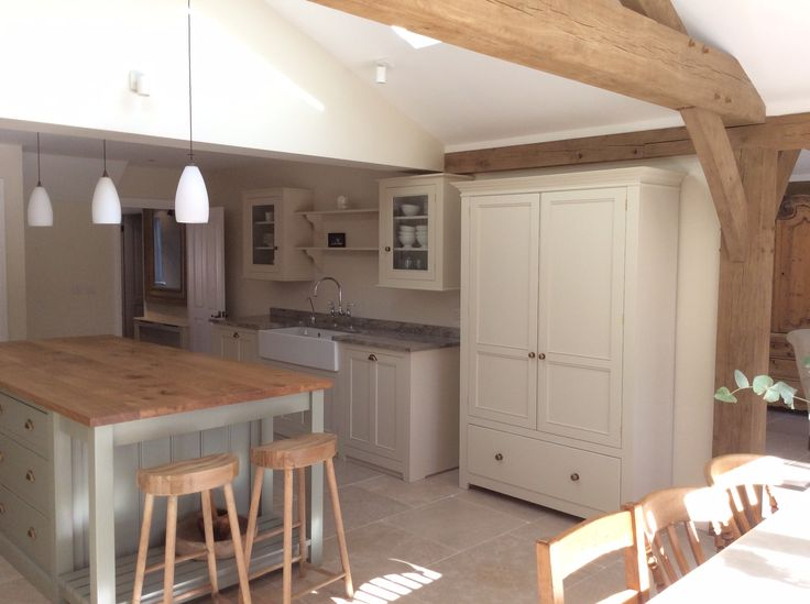 Carpenter Oak extension, kitchen