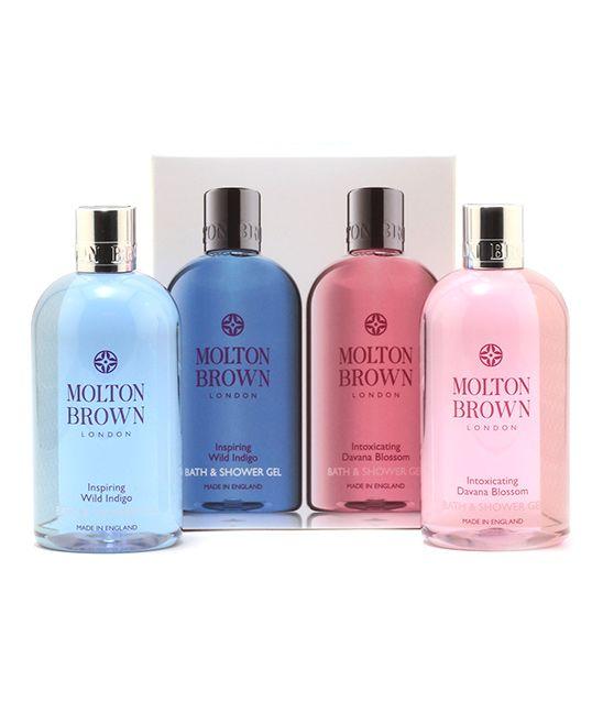 Wild Indigo & Davana Blossom 10-Oz. Bath & Shower Gel Set