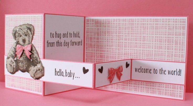 Baby Bear Z Fold Card                                                                                                                                                                                 More