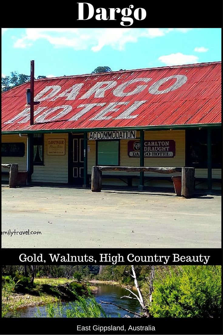Dargo is Victoria's most remote town. Located in the East Gippsland High country in Australia. Dargo today relies on tourists accessing the Dargo high plains, mountains and streams.