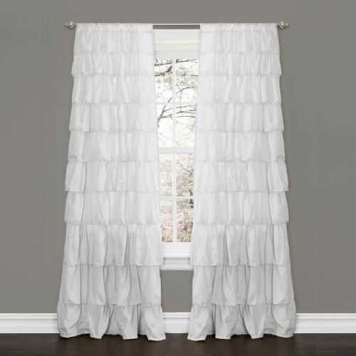 Lush Decor Ruffle Window Curtain Panel, 84 by 50-Inch, White Lush Decor http://www.amazon.com/dp/B00FGHRDXE/ref=cm_sw_r_pi_dp_TE8Ltb1NY28J8N5C