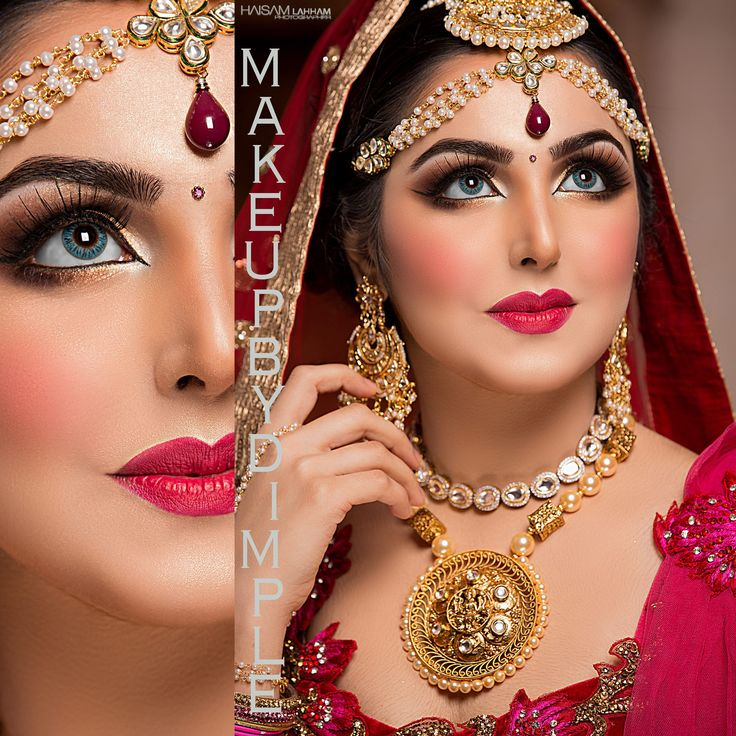 Indian Bridal Eye Makeup: 1000+ Images About Arabic Bridal Makeup On Pinterest