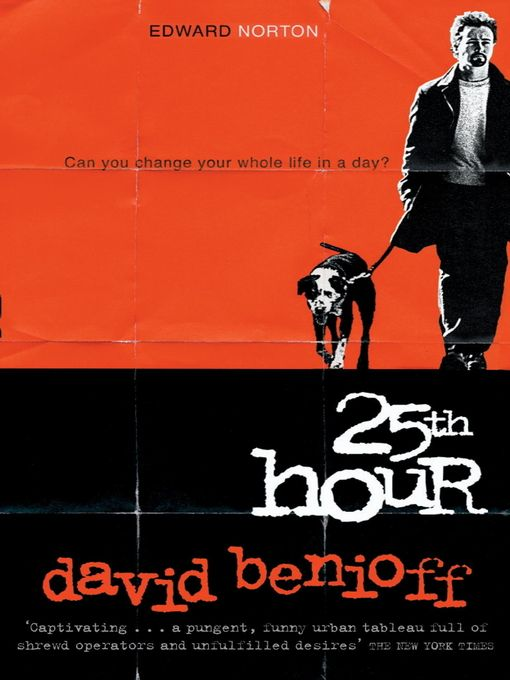 the 25th hour book pdf