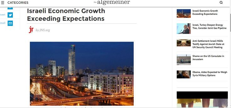 EL CRECIMIENTO DE LA ECONOMIA ISRAELI SUPERA TODAS LAS EXPECTATIVAS. La economía de Israel está funcionando mejor de lo esperado, según informó el jueves la Oficina Central de Estadísticas (CBS) en…