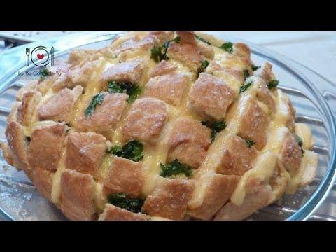 Pan con Queso Fundido - Lo He Cocinado Yo