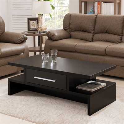 Enitial Lab IDI-15112 Felinas Coffee Table with Drawer