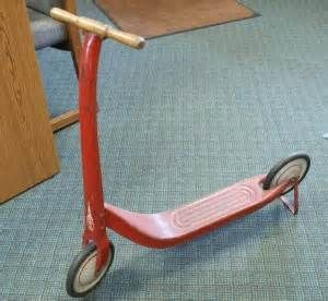 Antique Childs Scooter