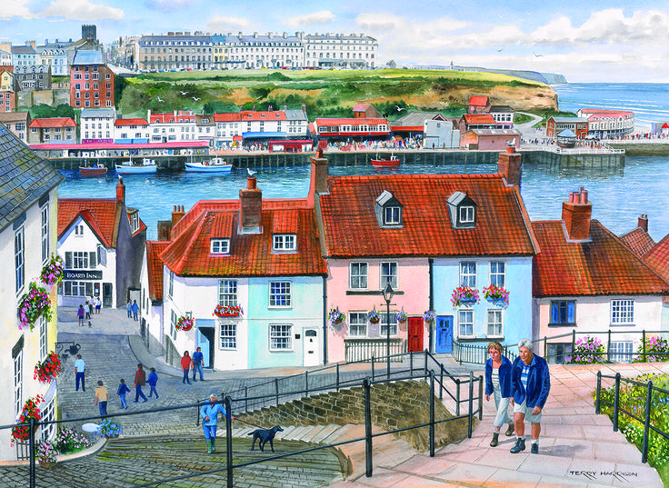 The Port Of Whitby Puzzle 2  #jigsaw #puzzle #christmas #xmas #gifts #children #grandparents #hobby #fun #family #gibsons #set