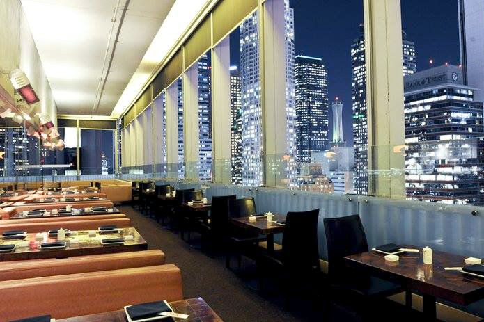 Takami Sushi Robata Restaurant View From Takami Sushi Robata In Downtown L A Enlarge Photo Takami Sushi Robata Restaurant F Los Angeles Restaurants Takami Sushi Birthday Dinner Restaurants