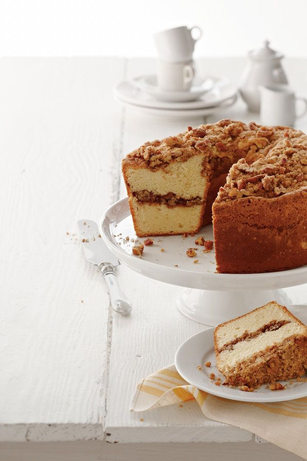 Marry two Southern specialties, coffee cake and pound cake, to create one buttery, best-of-both-worlds treat.  Recipe:Coffee Cake Pound Cake