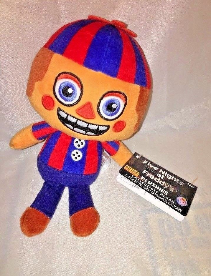 FIVE NIGHTS AT FREDDY/'S FNAF BALLOON BOY PLUSH FUNKO EXCLUSIVE Hot Topic AUTHENT