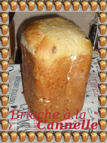 Brioche ultra moelleuse à la cannelle, recette facile et rapide car cuisson en map (machine à pain)