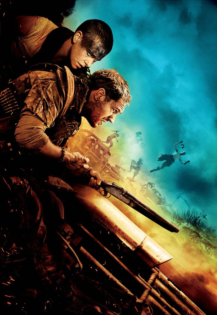 mad max textless poster #tomhardy #charlizetheron
