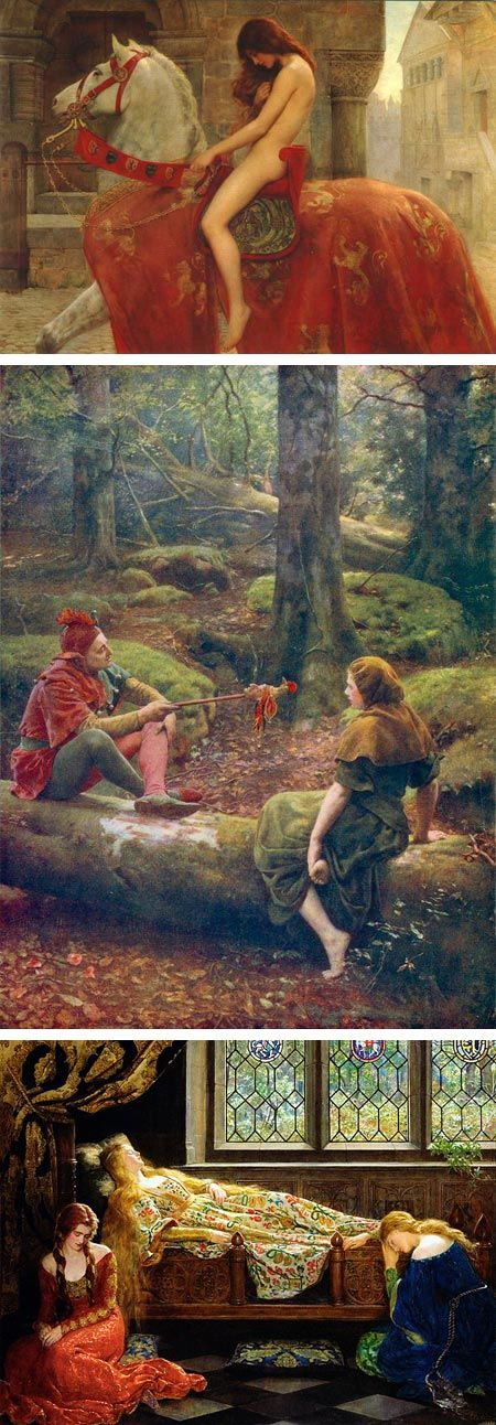 John Collier, Lady Godiva, In the Forest of Arden, Bauty