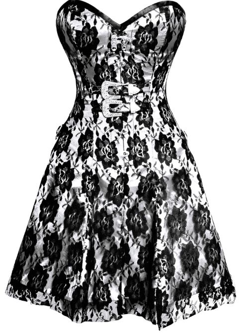 ON SALE: £65.00 US $100.38 2 More Days In The Sale Gothic Corset Dress