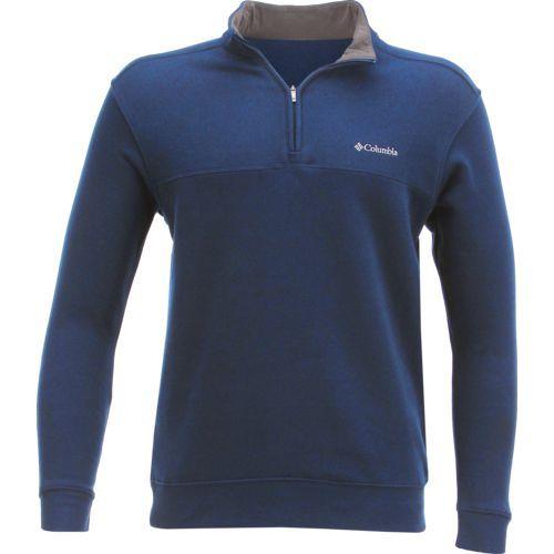 Columbia Sportswear Men's Hart Mountain II 1/2 Zip Jacket (Navy, Size XX Large) - Men's Outdoor Apparel, Men's Longsleeve Outdoor Tops at Academy S...