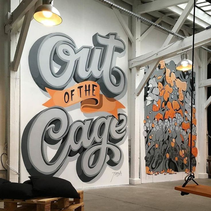 50 best mural reference images on pinterest beautiful for Mural lettering