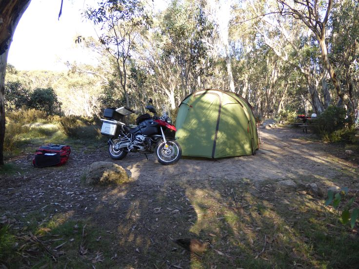 Lake Catani camp, Mt Buffalo National Park, Victoria, Australia