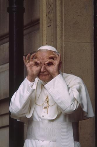 Stupidity is also a gift of God, but one mustn't misuse it. Pope John Paul II